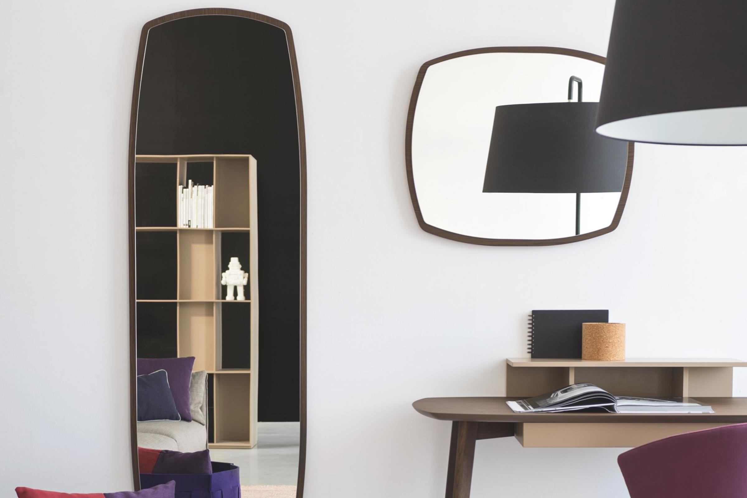 Match Mirror Scandinavian Design Mirror Calligaris Boca