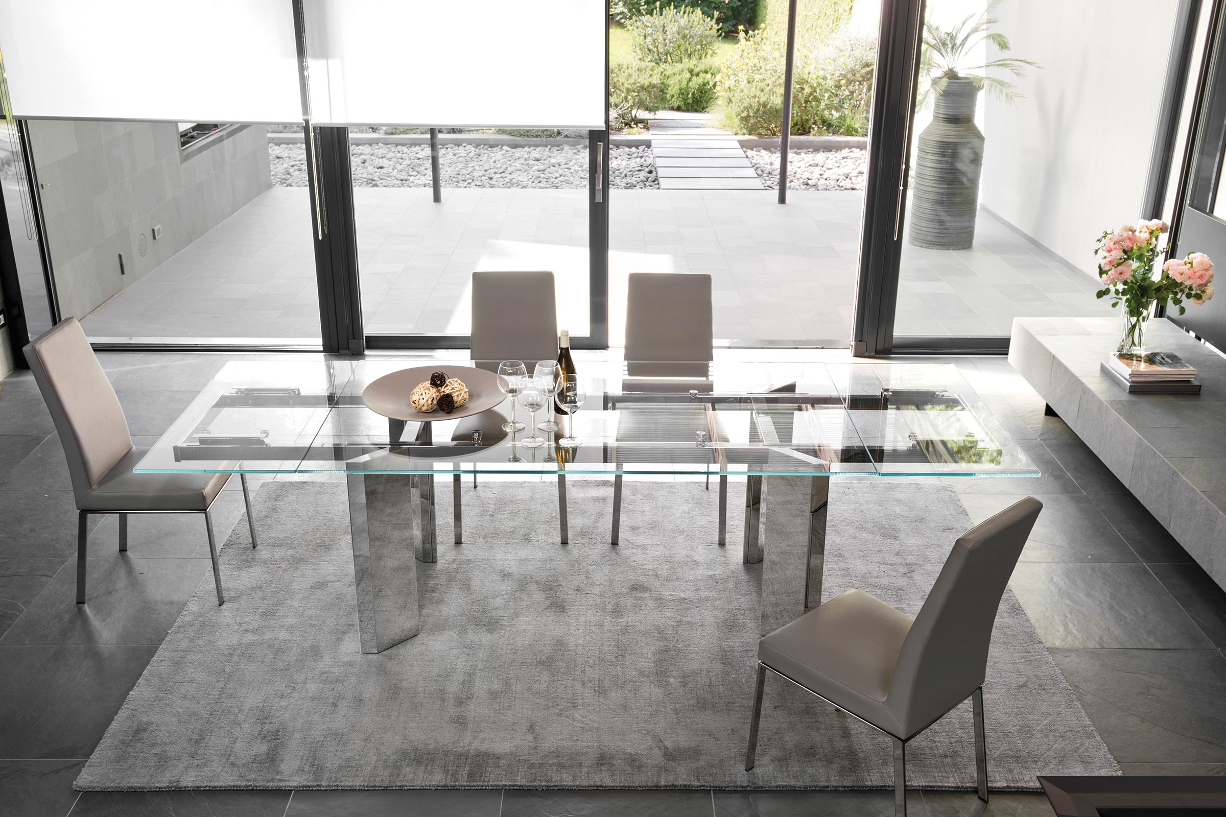 Tower Extendable Dining Table Calligaris Boca Raton
