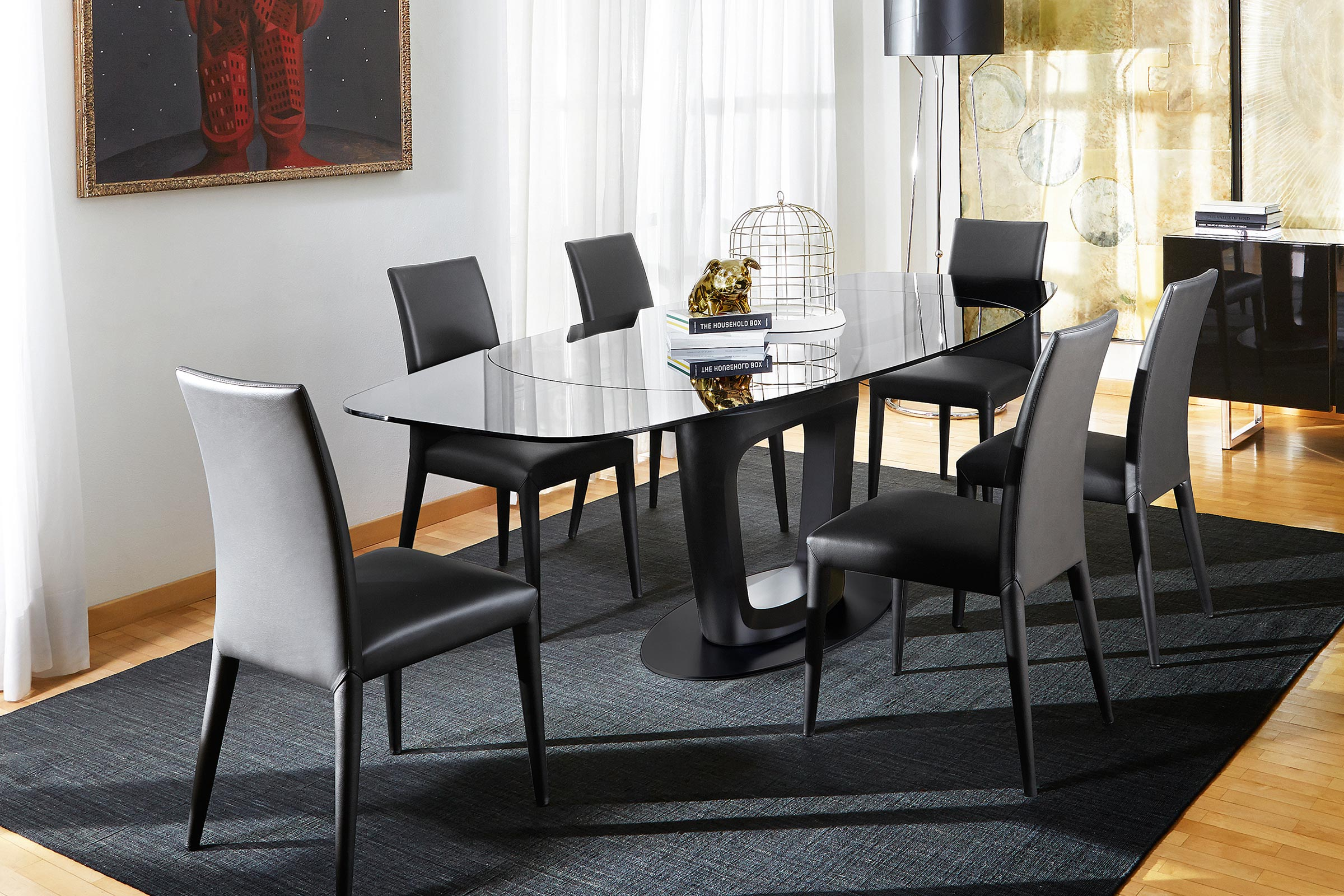 Anais Fully Upholstered Chair Calligaris Boca Raton