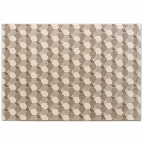 CEMENTINO Rug Polypropylene/polyester VARIOUS SHADES OF BEIGE