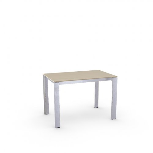 DUCA Top P49W mel. NATURAL OAK  Frame P77 met. CHROMED  Legs P77 met. CHROMED