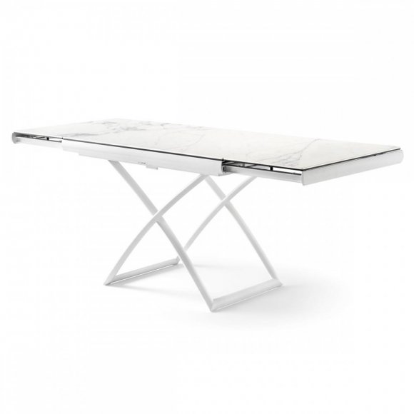 Height Adjustable Extending Coffee Dining Table: Dakota Adjustable, Extendable Coffee/Dining Table