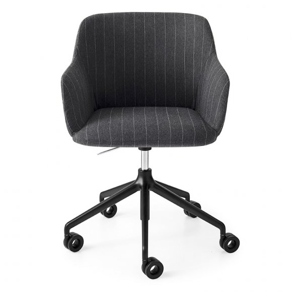 elle: Padded Seat Home Office Chair