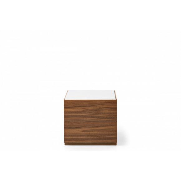 City: 2 Drawer Nightstand